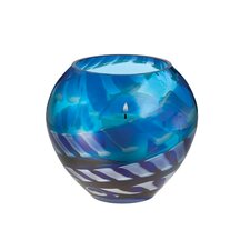 Cobalt Rush Votive Candle Holder