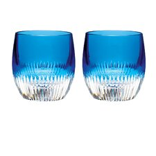 Argon Double Old Fashion Glass (Set of 2)