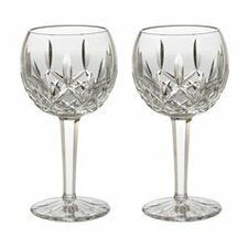 Lismore 8 oz. Balloon Wine Glass (Set of 2)