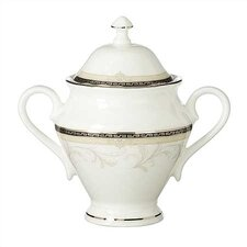 Brocade Sugar Bowl with Lid