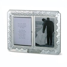 Wedding Announcement Double Picture Frame