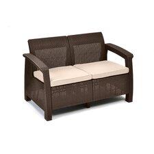 Corfu Love Seat with Cushion