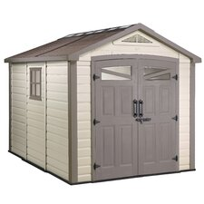 "Orion 8'4.5"" W x 9'5"" D Resin Storage Shed"