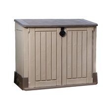 """Woodland 4'5"""" W x 2'5"""" D Resin Tool Shed"""