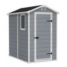 Manor 4 Ft. W x 6 Ft. D Plastic Shed