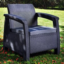 <strong>Keter</strong> Corfu Armchair with Cushion