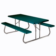 <strong>Lifetime</strong> Folding Picnic Table
