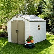 8ft. W x 10ft. D Storage Shed