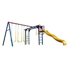 Monkey Bar Adventure Swing Set