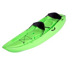 Lifetime Manta Tandem Kayak with Two Soft Backrest