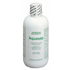 AquaGuard Gravity-Flow Eye Wash Refills - 8-oz. bacteriostatic additive