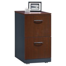 Via 2-Drawer Mobile Pedestal