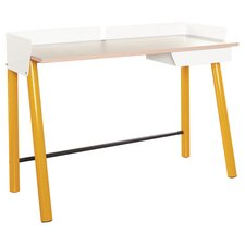 Soft Modern Writing Desk with Drawer