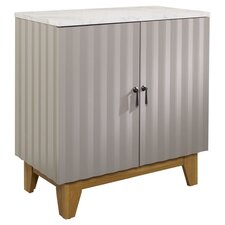 Soft Modern 2 Door Storage Cabinet
