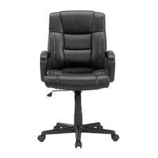 Gruga Manager's Mid-Back Leather Executive Office Chair I