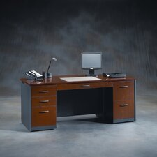 <strong>Sauder</strong> Via Executive Standard Desk Office Suite