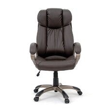 <strong>Sauder</strong> Gruga Deluxe Leather Executive Chair