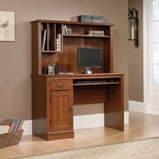 "<strong>Sauder</strong> Camden County 43.5"" W Computer Desk with Hutch"