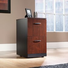 <strong>Sauder</strong> Via Two Drawer Pedestal in Classic Cherry
