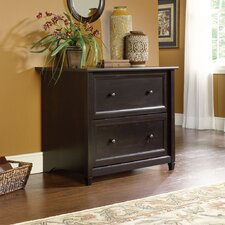 <strong>Sauder</strong> Edge Water Lateral File Cabinet in Estate Black