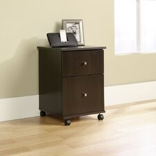 <strong>Sauder</strong> File Cart in Cinnamon Cherry