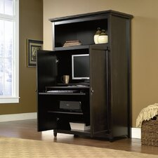 <strong>Sauder</strong> Edge Water Desk Armoire
