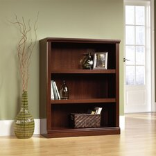 Storage 3-Shelf Bookcase in Select Cherry
