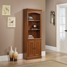 "Heritage Hill Library 71.26"" Bookcase with Doors"