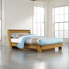 Soft Modern Queen Platform Bed