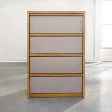 Soft Modern 4 Drawer Chest