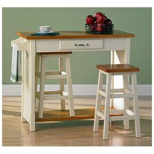Lisle 3 Piece Dining Set