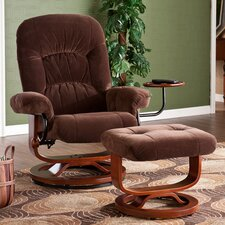Brennan Recliner and Ottoman