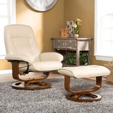 Shaw Ergonomic Recliner and Ottoman