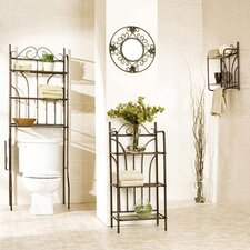 <strong>Wildon Home ®</strong> Lee Bronze Scroll 3 Piece Bath Set