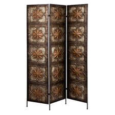 "<strong>Wildon Home ®</strong> 67.5"" x 48"" Magara 3 Panel Room Divider"