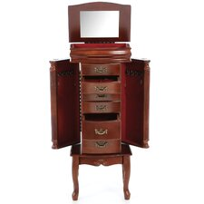 Riverhead Jewelry Armoire in Mahogany