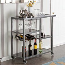 Holly and Martin Zephs Bar Serving Cart