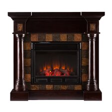 Clark Convertible Slate Electric Fireplace