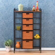 Walker Scrolled Kitchen Storage Baker's Rack