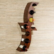 Shamira 8 Bottle Wall Mounted Wine Rack