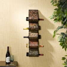 Dunbridge Wall Mount Wine Rack Sculpture