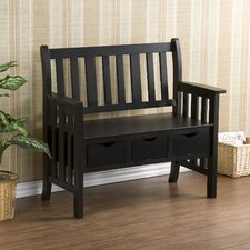 <strong>Wildon Home ®</strong> Stuart Storage Wood Entryway Bench