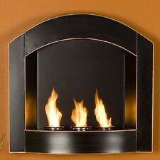 <strong>Wildon Home ®</strong> Cordova Wall Mounted Gel Fuel Fireplace