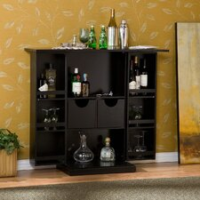 <strong>Wildon Home ®</strong> Boswell Fold Away Bar in Black