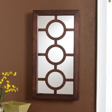 Elizabeth Wall Mount Jewelry Mirror