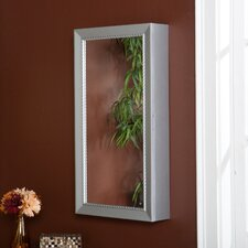 Grace Wall Mount Jewelry Mirror