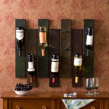 Sutton 7 Bottle Wall Mounted Wine Rack
