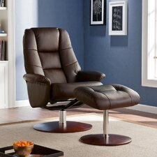 Kipton Recliner and Ottoman