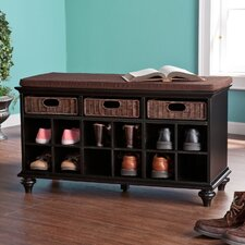 Mason Shoe Storage Bench