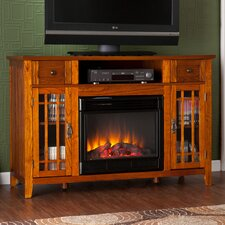 """Breevort 52"""" TV Stand with Electric Fireplace"""